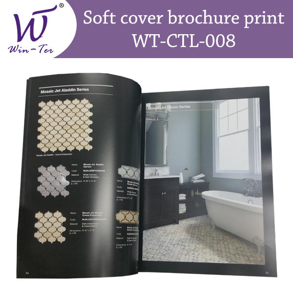 soft cover brochure printing by Win-Ter