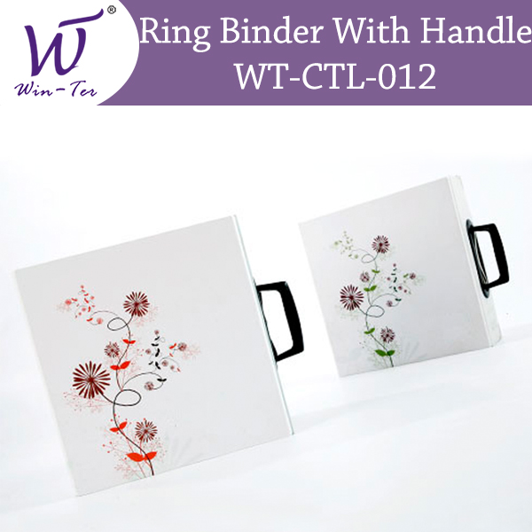 Sample Ring binder with handle