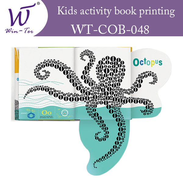 Kids activity book printing