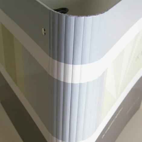 Round spine ring binder