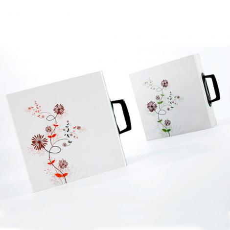 Sample ring binder box with handle -Win-Ter Printing