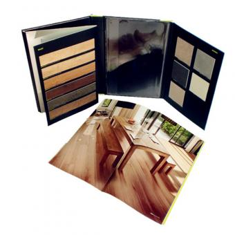 Professional wood flooring folder printing -Win-Ter Printing