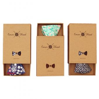 packaging box for bow tie