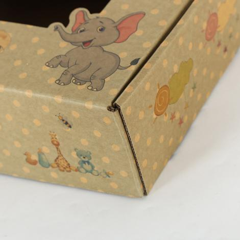 baby shoe box design