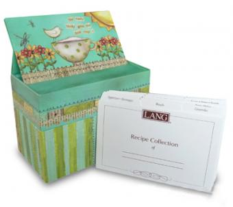 custom recipe box printing