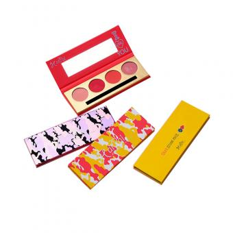 cosmetics blusher box