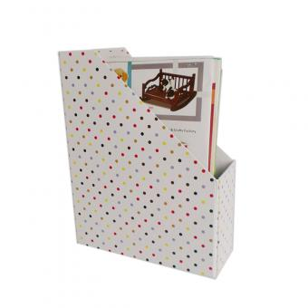 L shape file folder