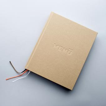 Linen cover photo book