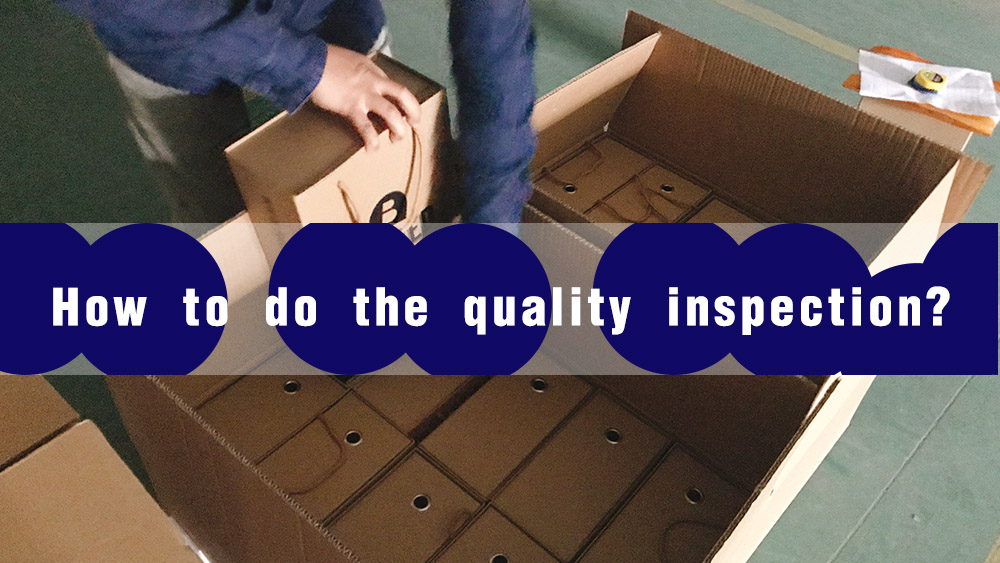 How to do the box inspection by Win-Ter?