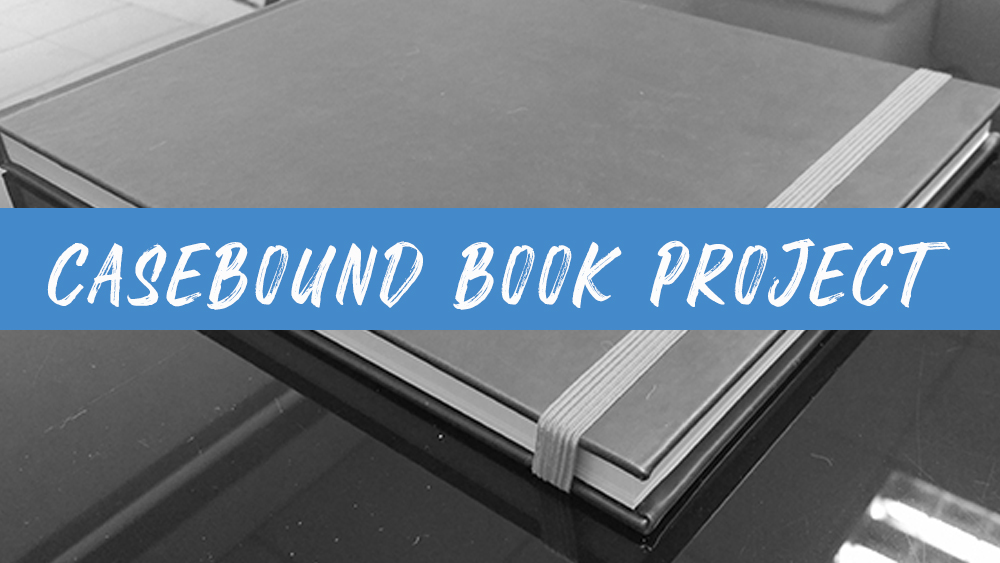 How a casebound book project finished?