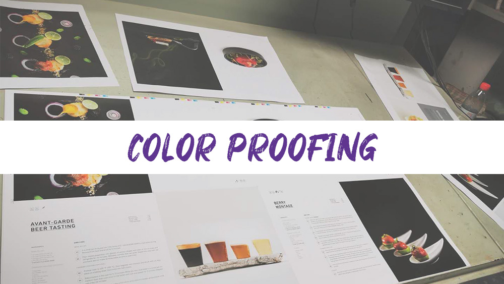 Color Proofing in July for soft cover book project