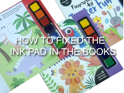 How to fix ink pad in the books